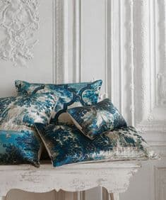 Paradise Lost 65 x 30 velvet cushion - right